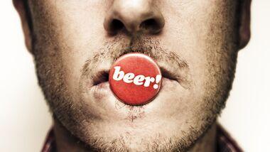 Mit einer Bierfahne werden Sie Ihre Angebetete nicht beeindrucken