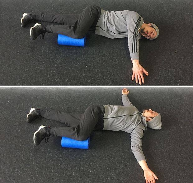 Mobi-Move: Rotation in Seitlage mit Foamroll