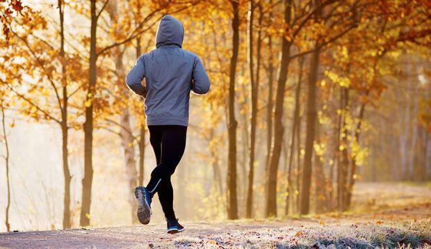 Moderater Sport stärkt das Immunsystem