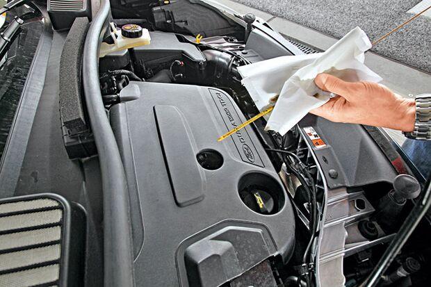 Motoröl-Check