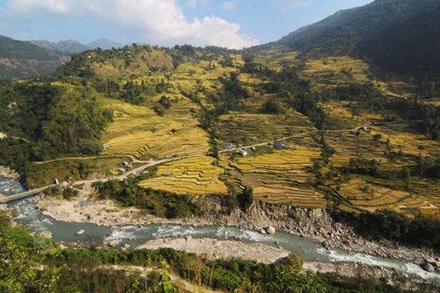 Motorradtour durch Nepal