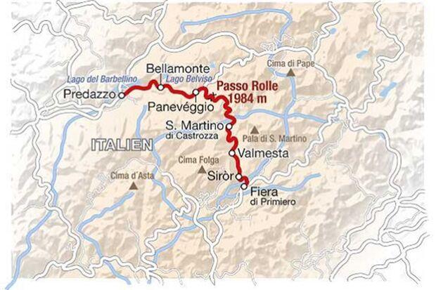 Motorradtour durch Norditalien