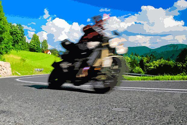 Motorradtour durch Slowenien