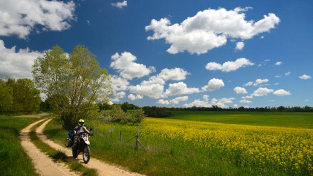 Motorradtour durch die Provence
