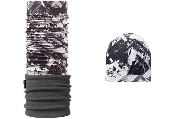 Mütze und passendes Multituch Mountaintop von Buff