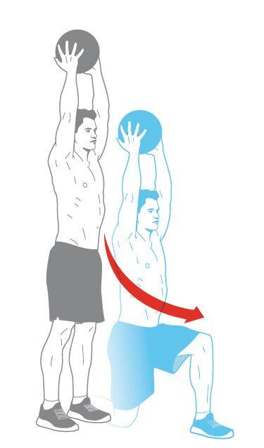 Muskel-Workout: Schrittmacher