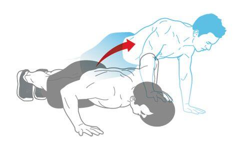 Muskel-Workout: Tief-Lieger