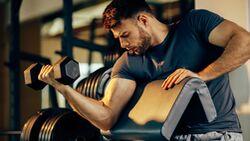 Muskelaufbautraining stärkt nicht nur den Körper, sondern auch die Gesundheit
