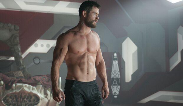 """Muskelbepackt und ein strahlendes Lächeln: """"Thor""""-Darsteller Chris Hemsworth"""