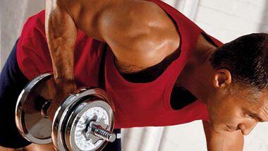 Muskelzittern ist ein Zeichen für Überbelastung