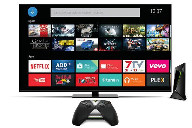 """NVIDIA """"Shield Android TV"""""""