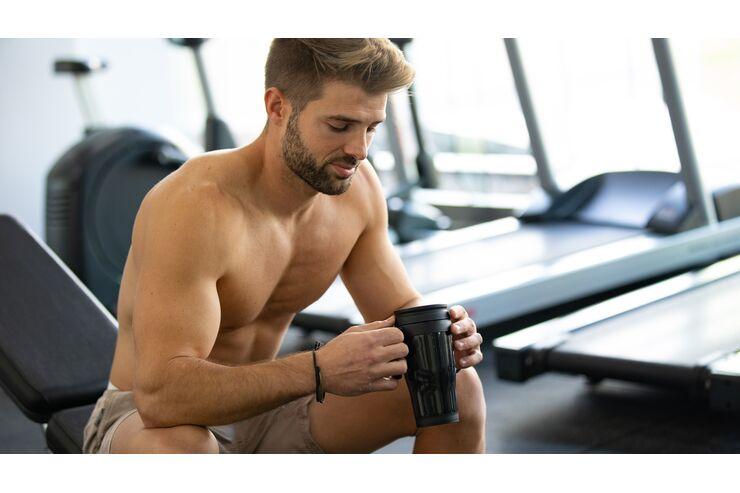 Muskelaufbau mit hohem Proteingehalt