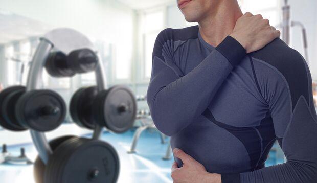 Negative Wiederholungen verursachen starken Muskelkater