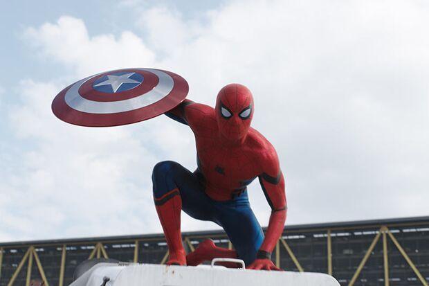 Neuzugang bei den Avengers: Spider-Man (Tom Holland)