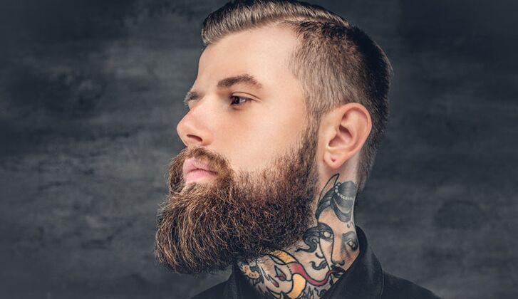 Tattoos kleine männer hals 50 Traditionelle