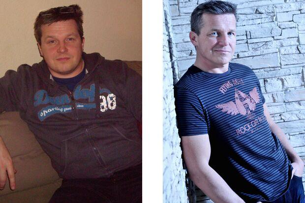 Nils hat 34 Kilo abgenommen