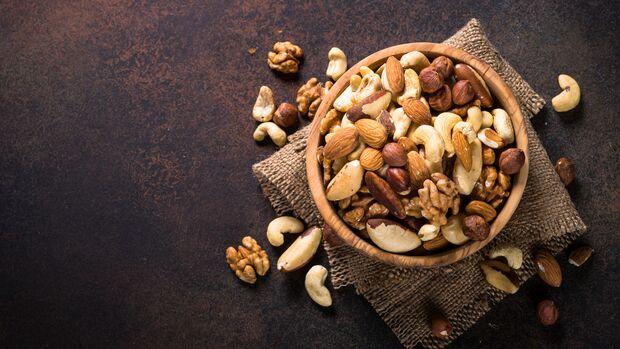 Nüsse enthalten besonders viel Omega-3-Fettsäuren