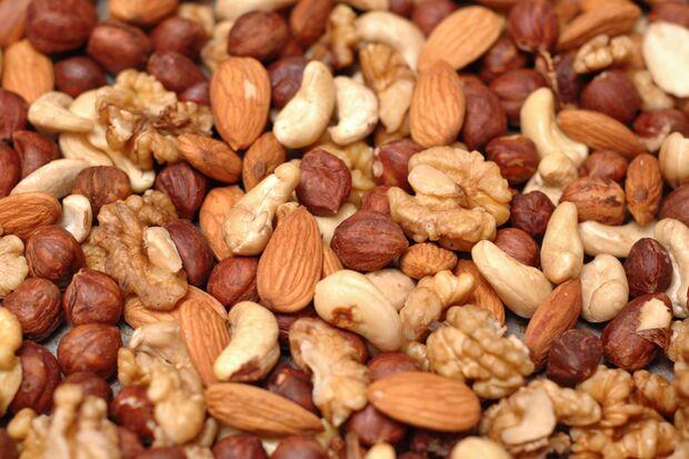 Nüsse enthalten gesunde Fette