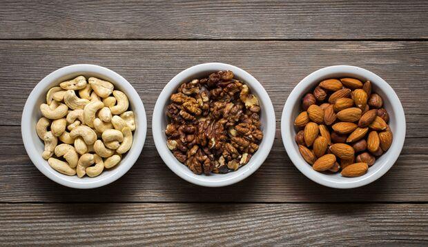 Nüsse liefern viele verschiedene Aminosäuren