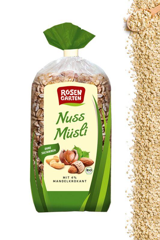 Nuss-Müsli von Rosengarten