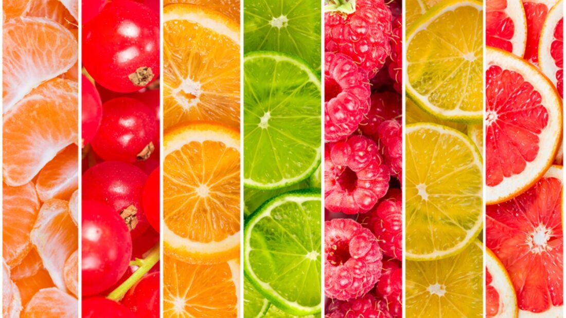 Obst mit viel Vitamin C