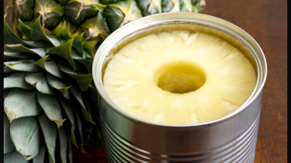 Obst und Gemüse enthalten wesentlich mehr Vitamine, wenn sie frisch sind