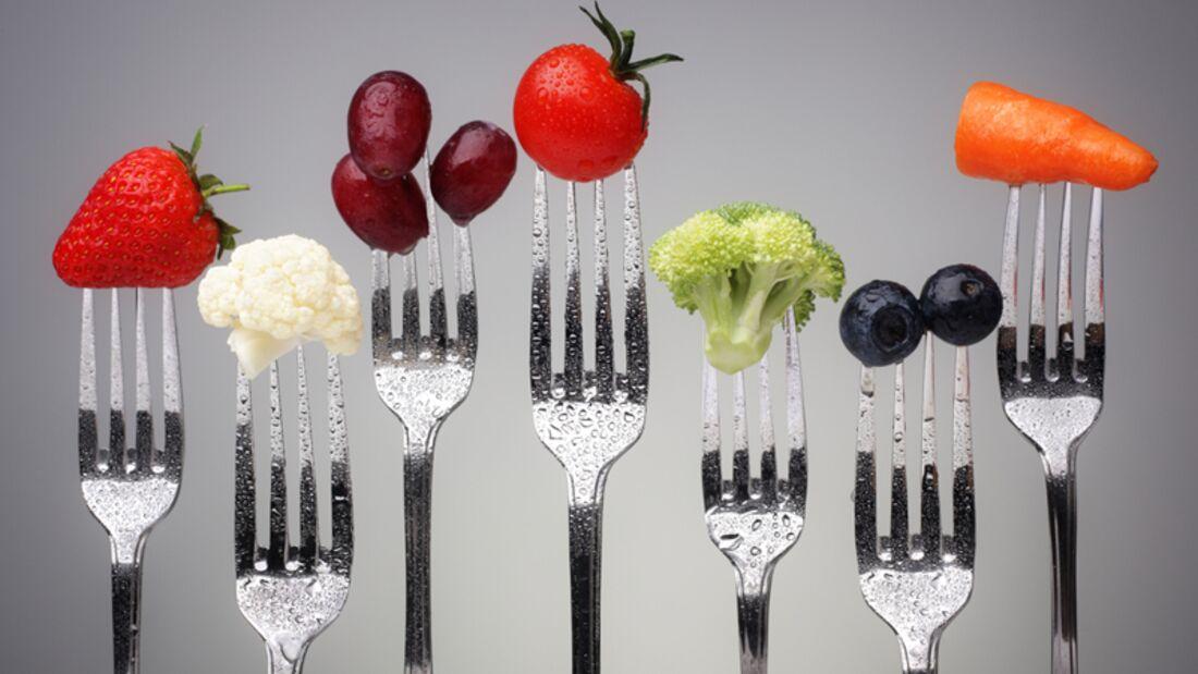 Obst und Gemüse gehört täglich auf den Speiseplan