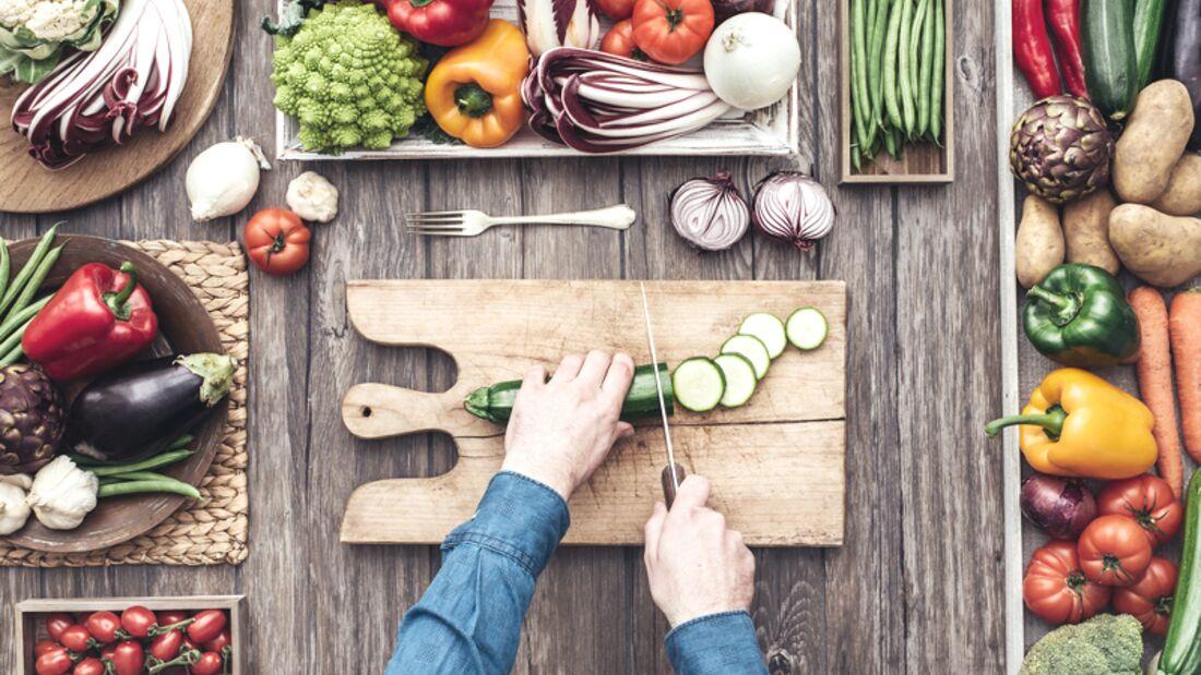 Obst und Gemüse stehen beim Clean Eating täglich auf dem Speiseplan