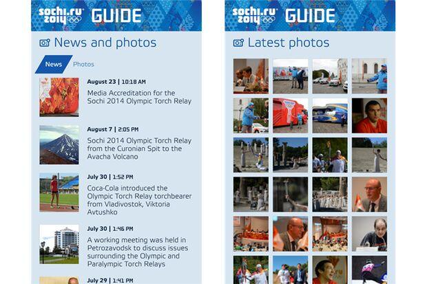 "Olympia-App ""Sochi 2014 Guide"""