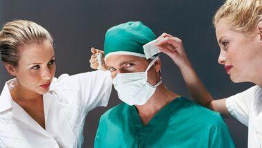Operationsmethoden bei Knorpelschaden