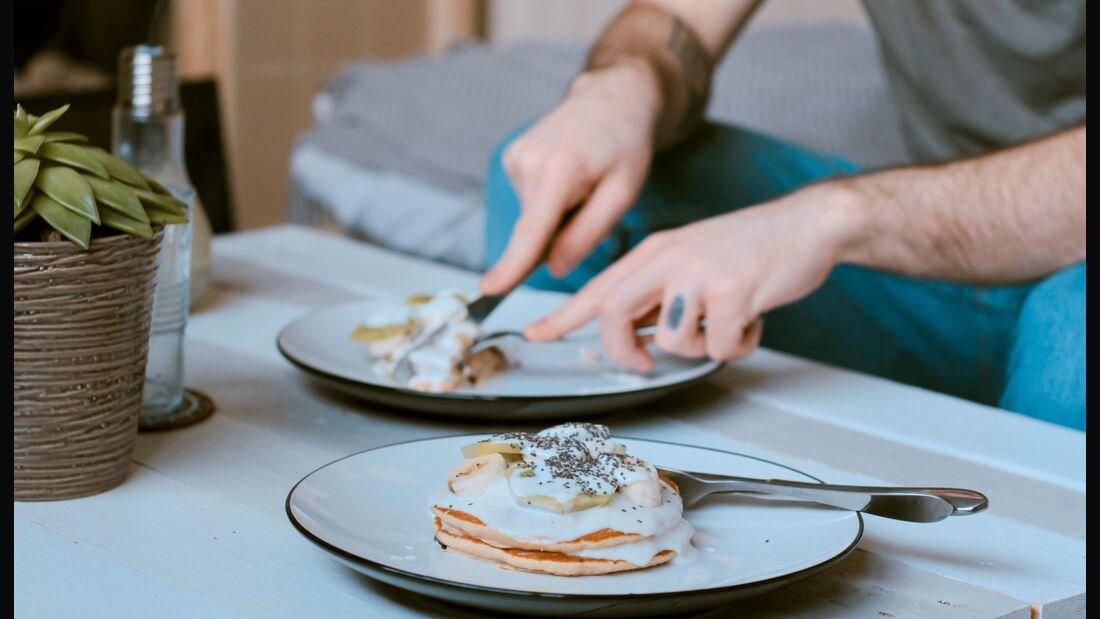 Pancakes gehen auch Low Carb!