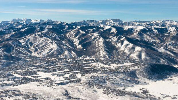 Park City liegt im US-Bundesstaat Utah, nur eine gute halbe Autostunde von Salt Lake City entfernt – am Rande der westlichen Bergkette der Rocky Mountains