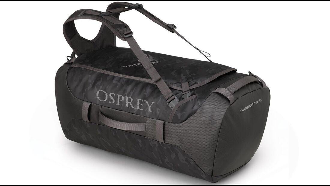 Perfekte Outdoor-Reisetasche: Die Osprey Transporter 65 gibt's auch in Camo