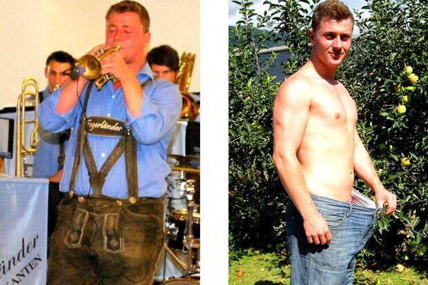 Peter hat 26 Kilo abgenommen