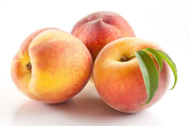 Pfirsiche enthalten nur wenig Kalorien