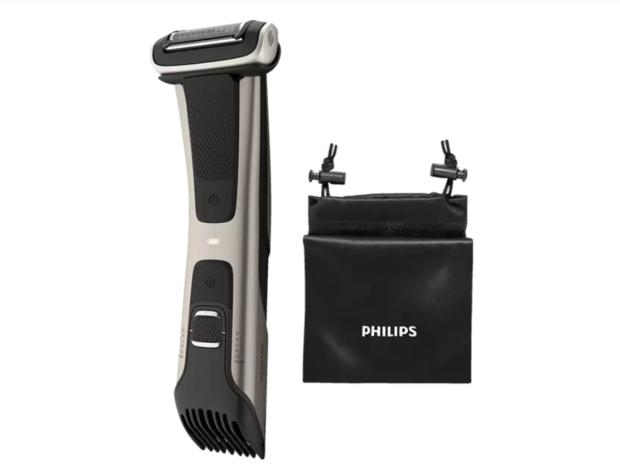 PhilipsBodygroom 7025/15 passt sich den Körperkonturen ideal an und erzielt so ein gründliches Ergebnis