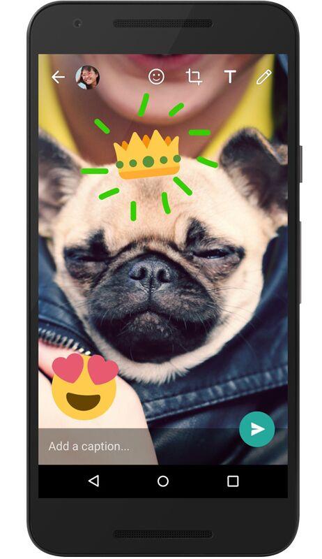 Pimpen Sie Ihre WhatsApp-Videos mit Emojis, Zeichnungen und Text