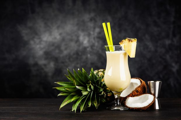 Pina Colada geht auch ohne Alkohol, aber mit viel Protein