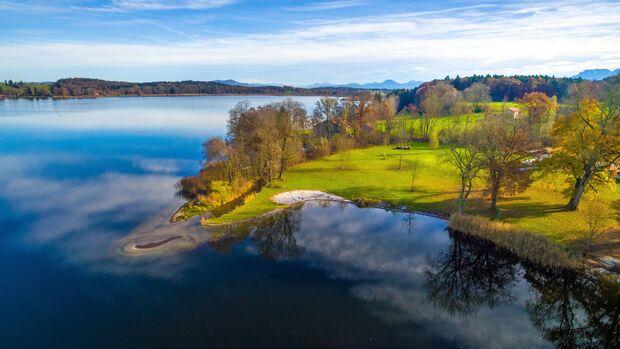 Platz 1 geht an den Waginger See in Oberbayern