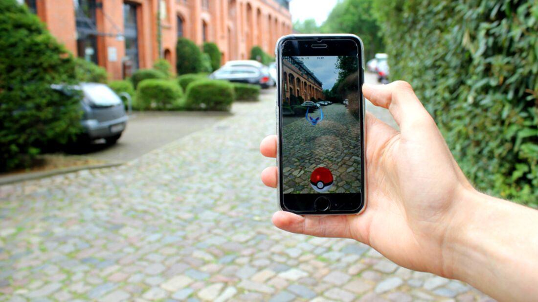 Pokémon GO motiviert den Nutzer zu mehr Bewegung