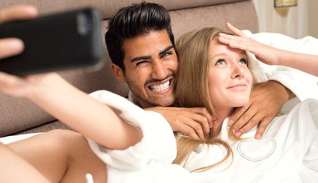Posten Sie nicht ungefragt Bilder von ihrer Partnerin
