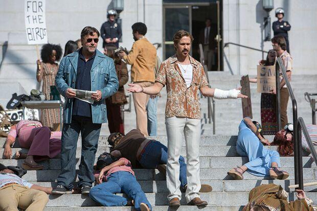 Privatdetektiv Holland March (Ryan Gosling) und Auftragsschläger Jackson Healy (Russell Crowe) ermitteln gemeinsam