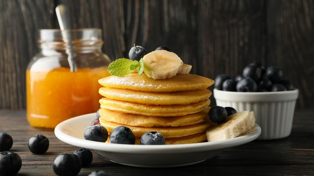 Probier doch mal Pancakes mit EAAs