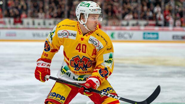 Profi-Eishockeyspieler Jan Neuenschwander war von einer Coronavirus-Infektion betroffen
