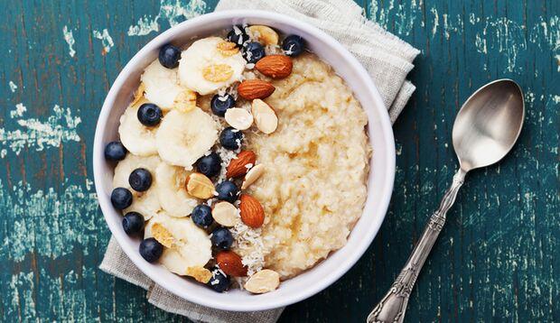 Protein-Porridge ist ganz leicht zuzubereiten