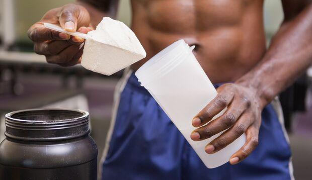 Protein-Shakes sind praktisch und schnell zuzubereiten