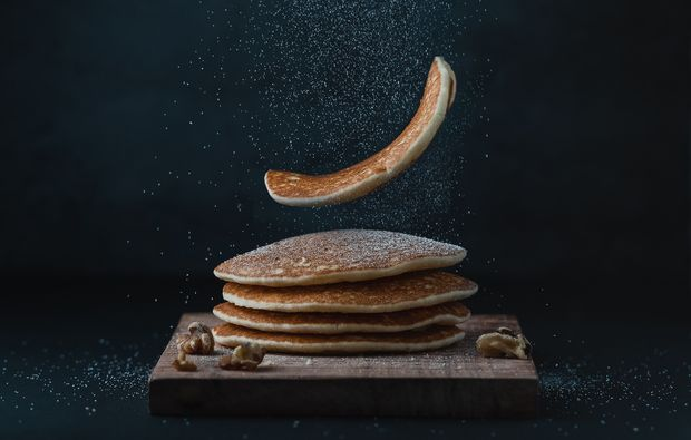 Proteinreiche Low-Carb-Pancakes