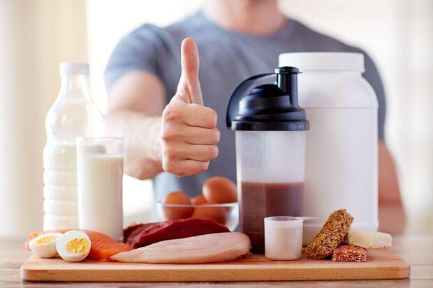 Proteinreiche Mahlzeiten
