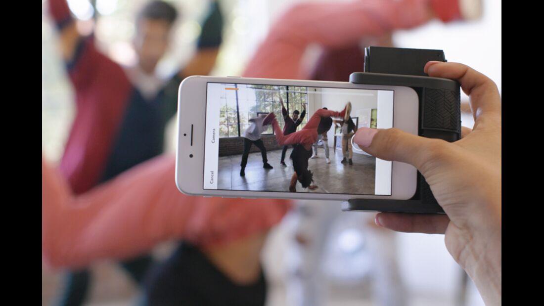 Prynt Pocket verwandelt das Smartphone in eine Sofortbildkamera