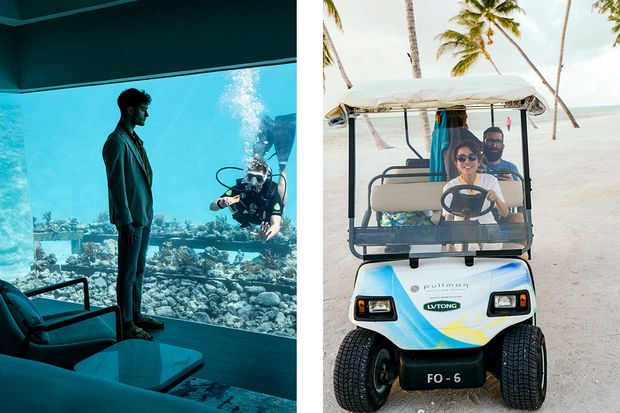 Pullam Malediven Maamutaa Resort - Best Fashion Making Of
